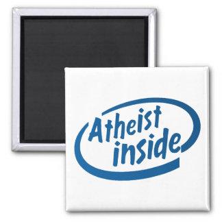 Ateu para dentro ímã quadrado