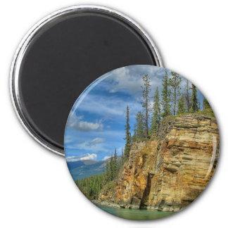 Athabasca cai I Ímã Redondo 5.08cm