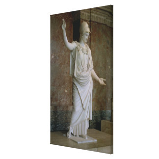 Athena, grego, provavelmente do século V BC (mármo