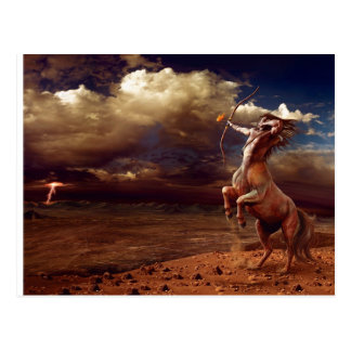 Atirador - cartão postal