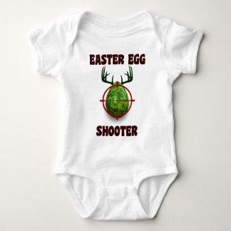 atirador do ovo da páscoa, desgin engraçado do body para bebê