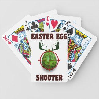 atirador do ovo da páscoa, desgin engraçado do carta de baralho