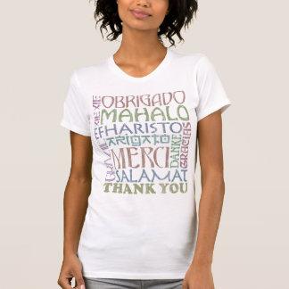 Atitude da gratitude camisetas