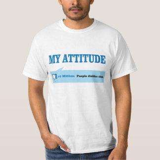 Atitude. Não goste d Camiseta