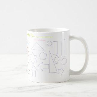 """""""Atividade e caro deus…"""" Caneca de café"""
