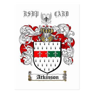 AtkinsonCrest, RSVP               … - Cartão Postal