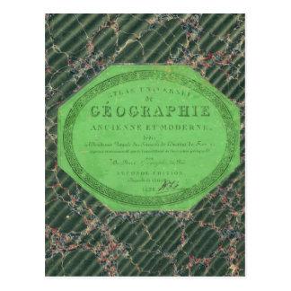 Atlas da geografia universal cartoes postais