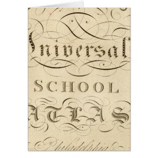 atlas universal da escola cartao
