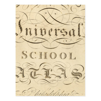 atlas universal da escola cartao postal