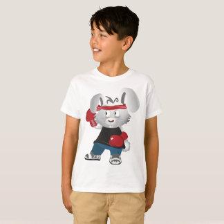Atleta do rato do t-shirt do Hanes TAGLESS® dos Camiseta