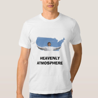 ATMOSFERA CELESTIAL nos EUA T-shirts