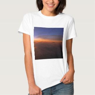 Atmosfera do roxo do por do sol tshirt
