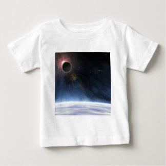 Atmosfera exterior da terra do planeta tshirt