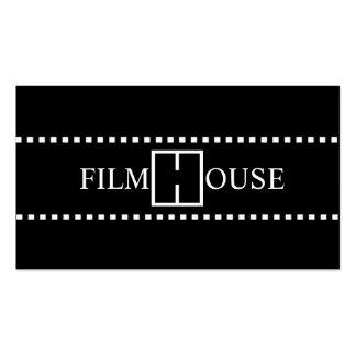 Ato do produtor de filmes do diretor Clapperboard Modelo Cartões De Visitas