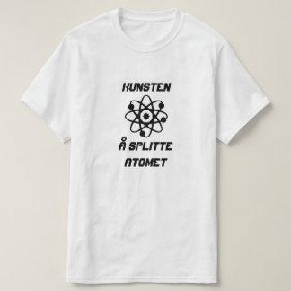 Átomo com atomet do splitte do å de Kunsten do Camiseta
