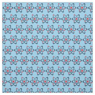 Átomos vermelhos tecido telhado do design