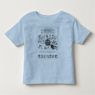 Ator 1922 adiantado da criança do filme silencioso tshirt