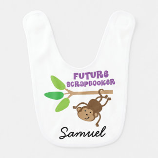 Ator futuro babador personalizado do bebê