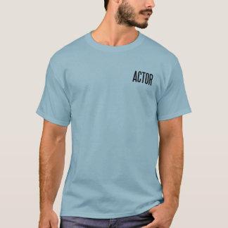Ator T.Shirt básico clássico (azul stonewashed) Camiseta