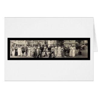 Atores & foto 1911 das atrizes cartão