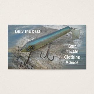 Atração da pesca do vintage de Slapper do surf de Cartão De Visitas