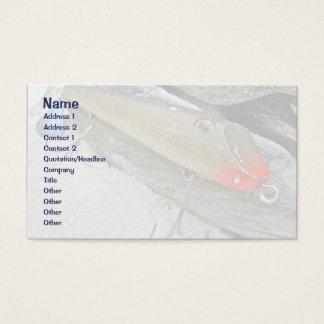 Atração de Fishmaster Jerry Sylvester Flaptail do Cartão De Visitas