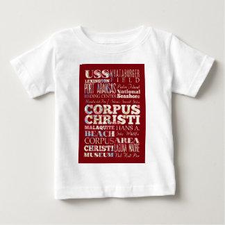 Atrações e lugares famosos de Corpus Christi T-shirts
