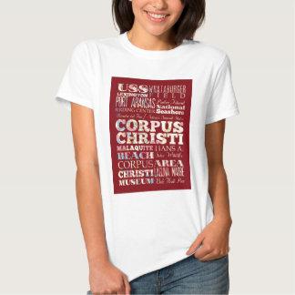 Atrações e lugares famosos de Corpus Christi Tshirt