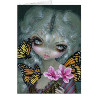 """""""Atraindo cartão das borboletas"""""""