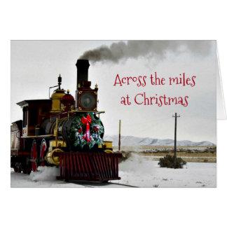 Através das milhas no cartão do Natal