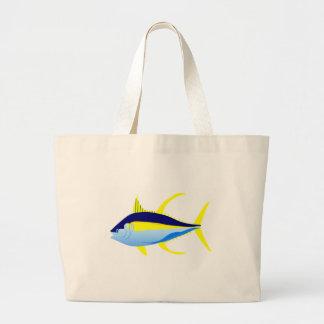 Atum de atum amarelo bolsas para compras