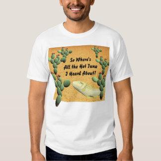 Atum quente camisetas