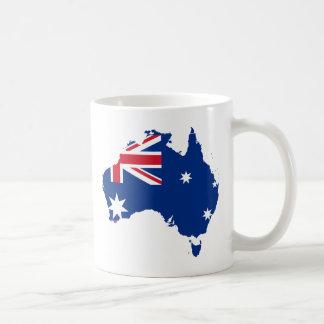 AU de Austrália Caneca De Café