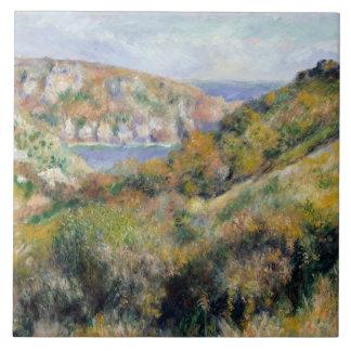 Auguste Renoir - colinas em torno da baía