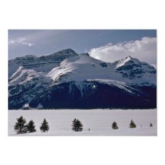 Aumentação sobre o lago congelado A Convite 12.7 X 17.78cm