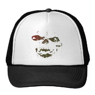 Aumentado pelo logotipo do crânio dos demónios boné