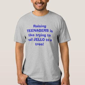 Aumentar ADOLESCENTES é como a tentativa pregar Tshirts