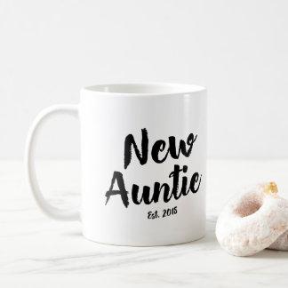 Auntie novo Est. 2018, caneca de café futura da