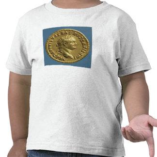 Áureo de Nero que veste uma grinalda do louro