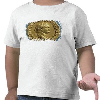 Áureo de Nero que veste uma grinalda do louro Camiseta