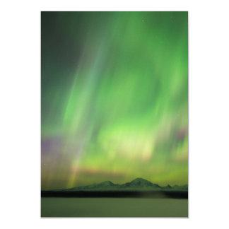 Aurora bonito convite 12.7 x 17.78cm