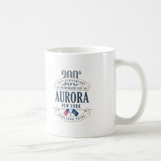 Aurora, caneca do aniversário de New York 200th