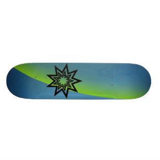 Aurora Verde-Azul de Zerodraline Skates