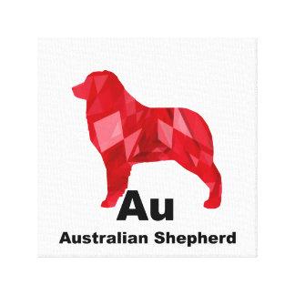 Aussie elementar vermelho