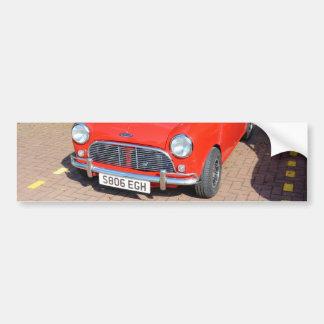 Austin britânico clássico adesivo para carro