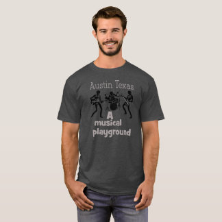Austin Texas - camiseta do campo de jogos da