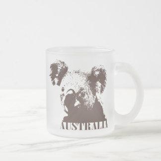 Austrália Caneca De Café Vidro Jateado
