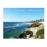 Austrália Ocidental norte da praia Cartão Postal
