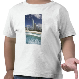 Austrália, Queensland, Gold Coast, surfistas Tshirt