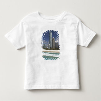 Austrália, Queensland, Gold Coast, surfistas Tshirt